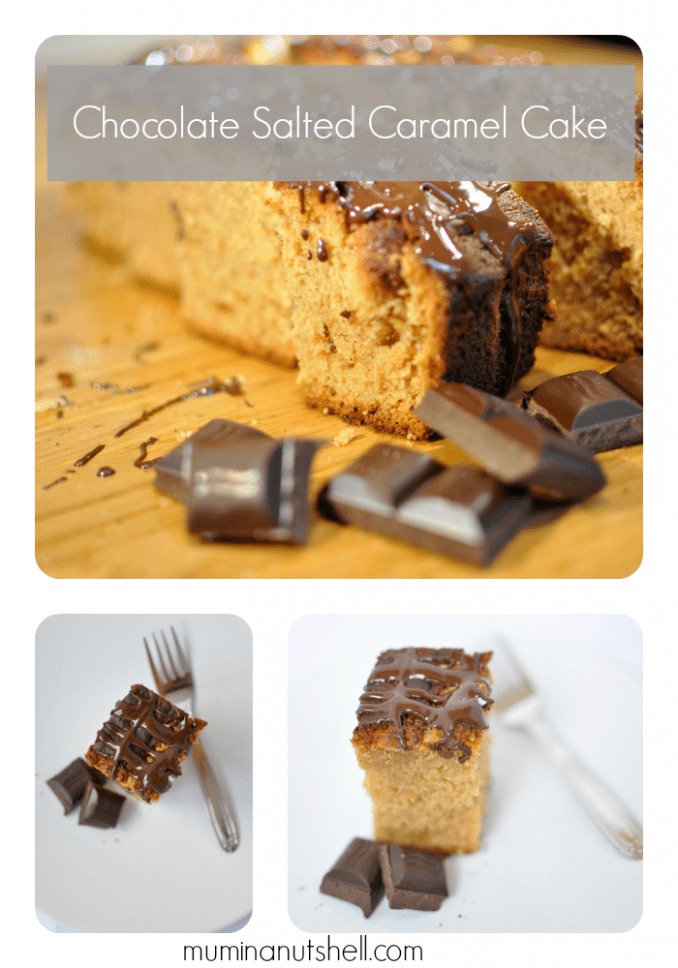 A recipe for an treat for your taste buds - Chocolate Salted Caramel Cake.