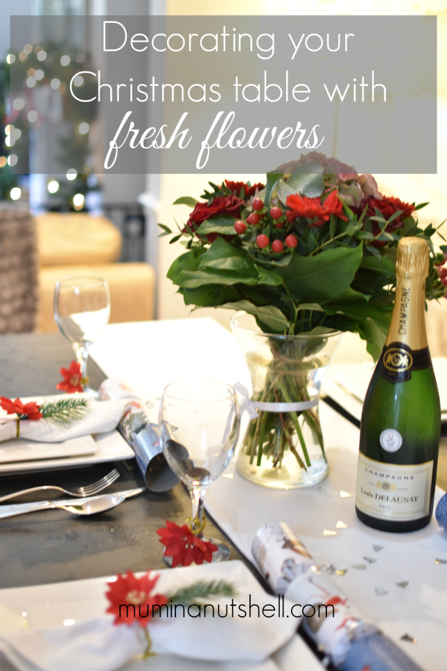 Styling Your Christmas Table With Fresh Flowers