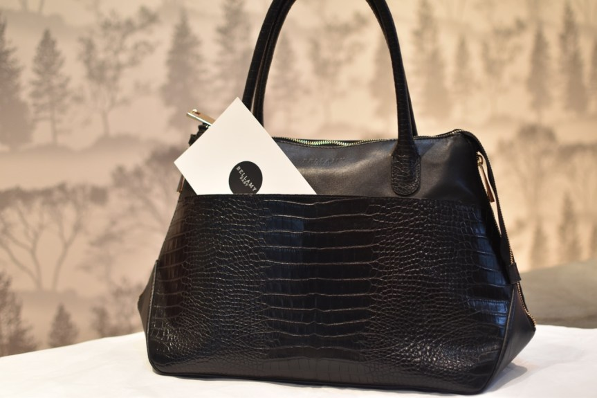 Defining the baby bag market with a functional yet elegant luxury changing bag, The Balmy Baby bag reviewed here;