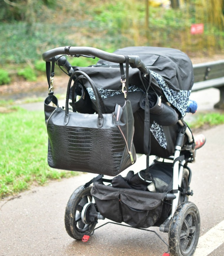 reviewing the Bellamy Baby bag, a luxury changing bag for a stylish mama! read more here