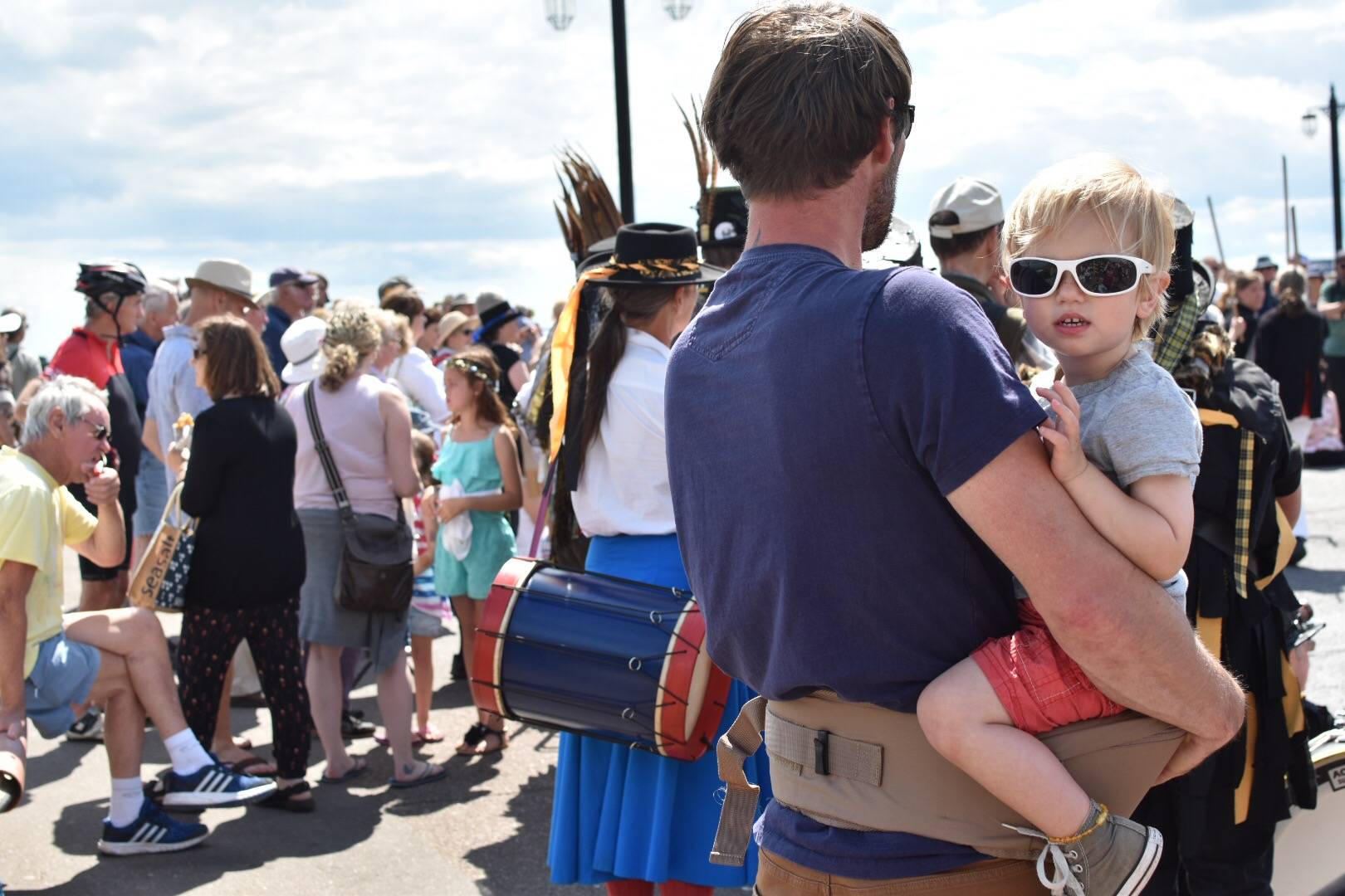the hippy chic toddler seat was an absolute life saver during our annual folk festival