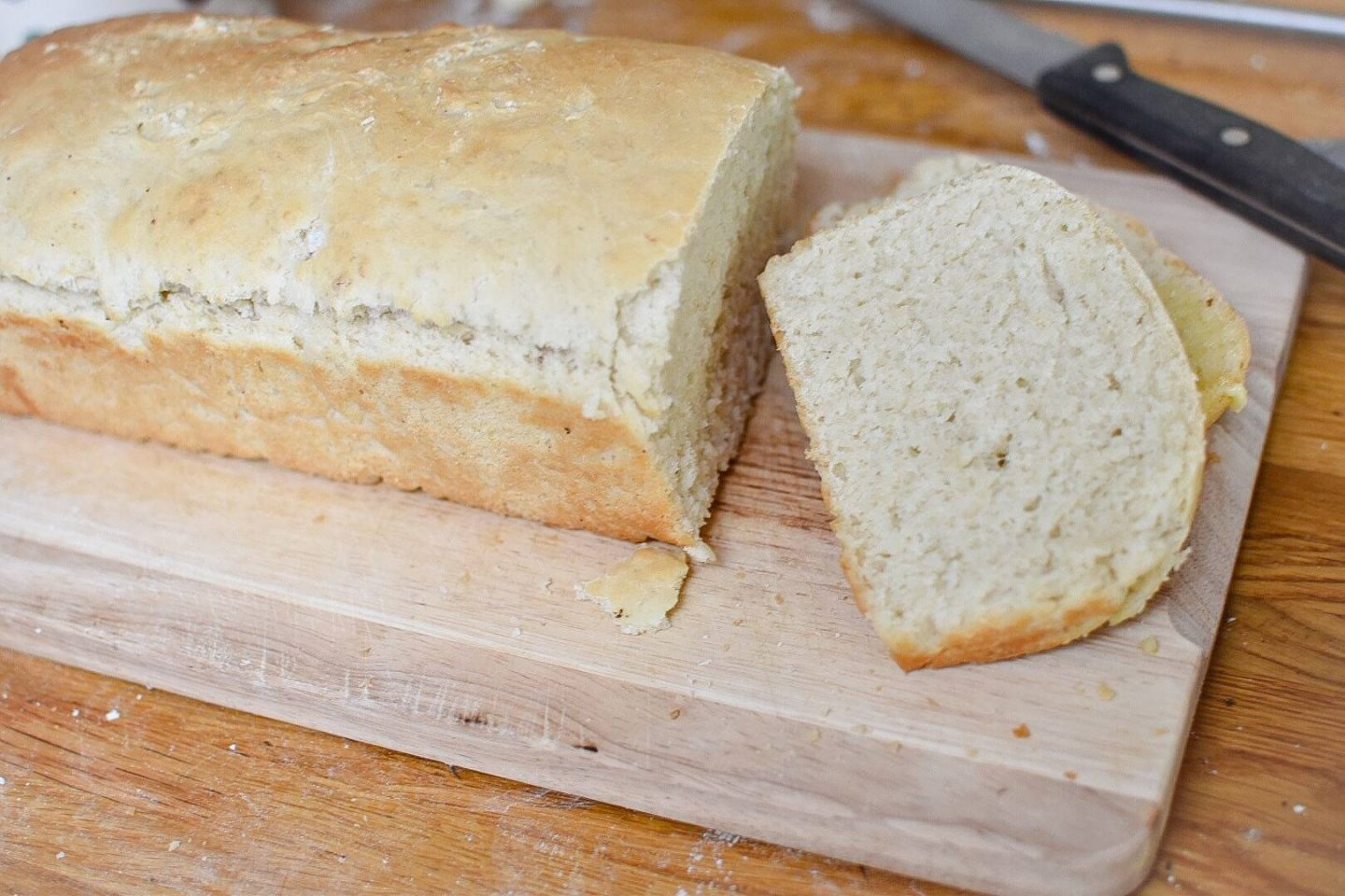 This recipe for white bread uses honey instead of sugar and is super easy to make