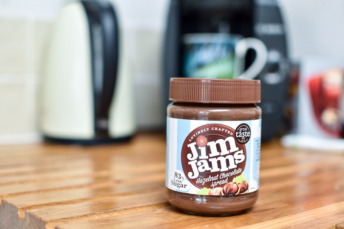 finding sneaky ways to reduce my kid's sugar intake starting with Jim Jams chocolate spread!