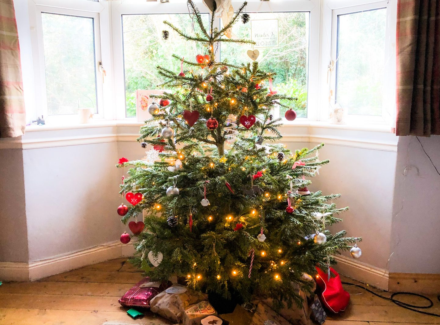 I've been pondering over the difference of going real and not having an artificial Christmas tree. There are benefits to both....