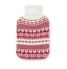 Primark Knitted Fairisle hot water bottle