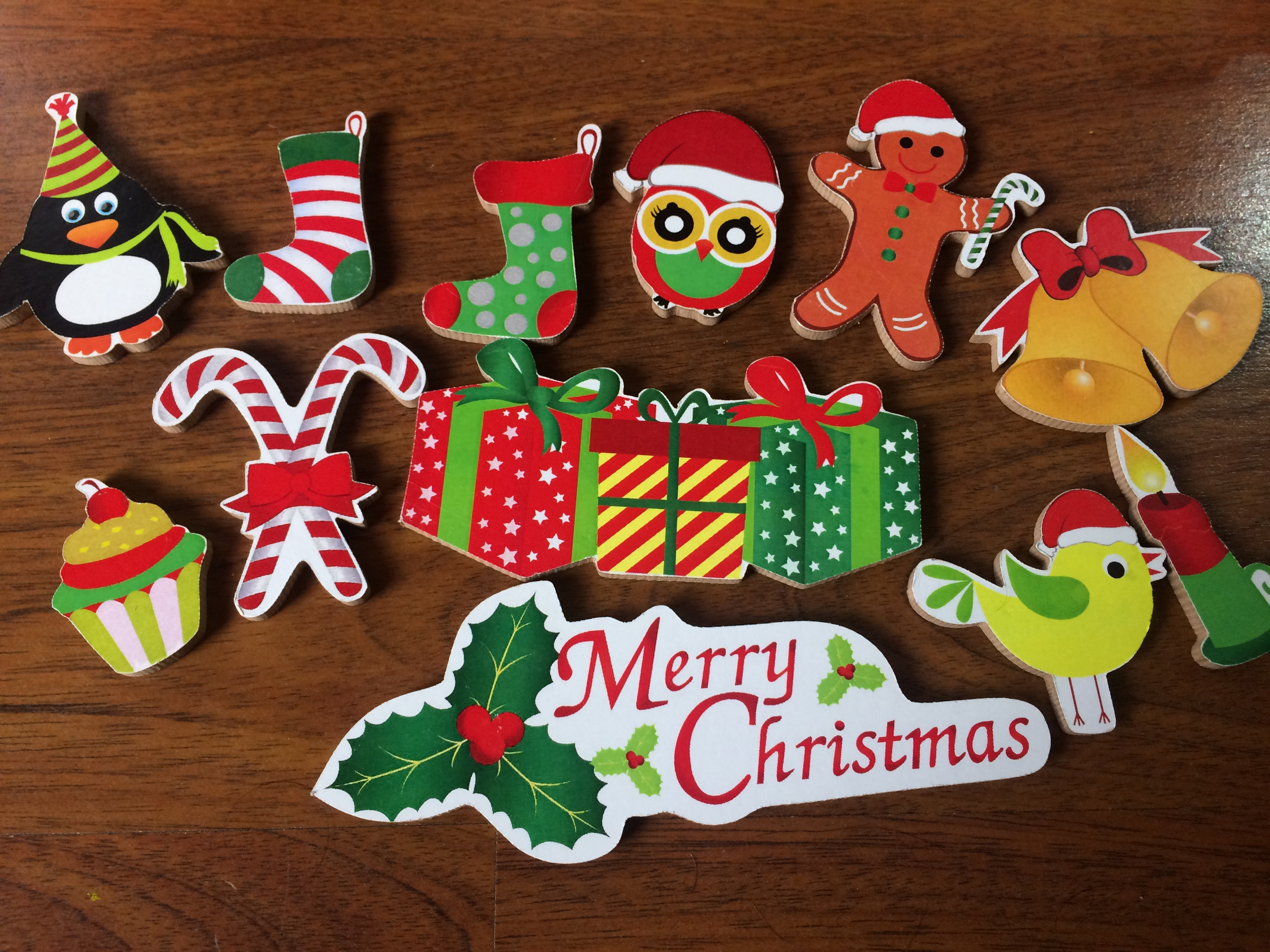 letters to santa merry wooden set for children mumma diaries 9243