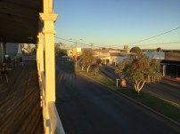 View from Quilpie Heritage Inn!