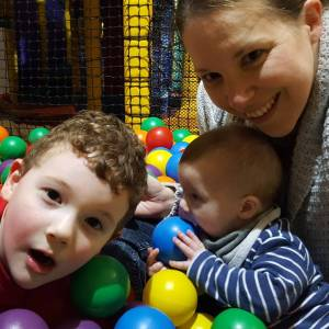 Soft play with my gorgeous boys! The other half washellip