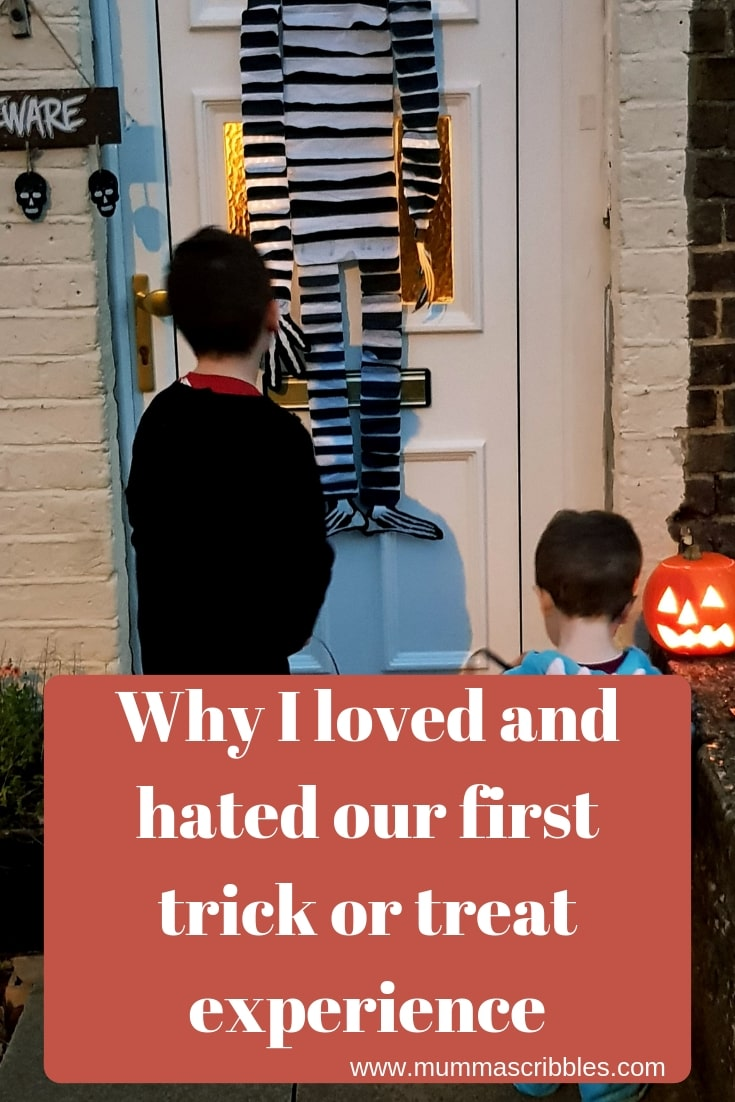 First Trick Or Treat Experience