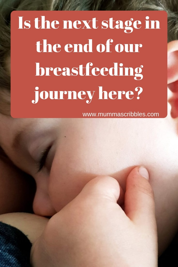 End Of Our Breastfeeding Journey