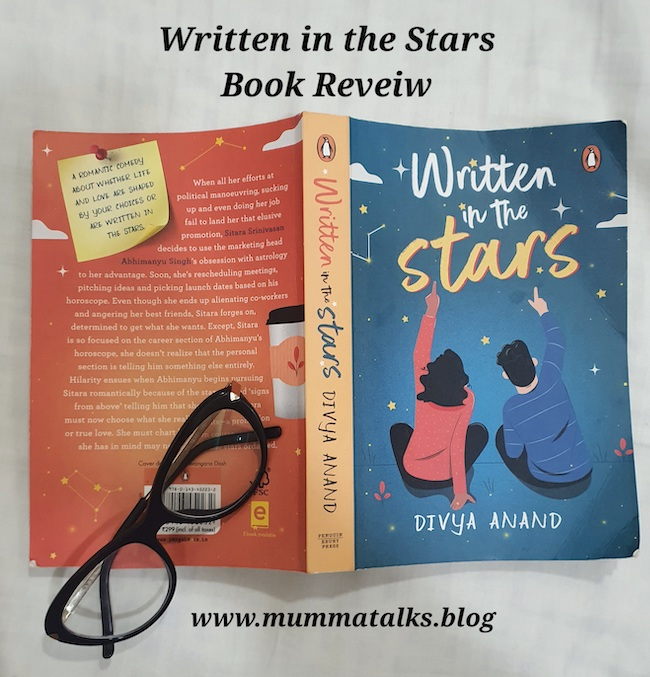 Written in the Stars by Divya Anand book review