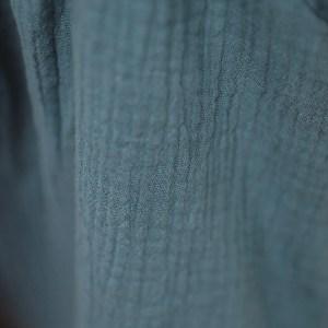 KnotenHaarband – jeansblau