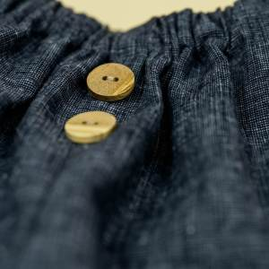 Leinenhose – Jeansoptik
