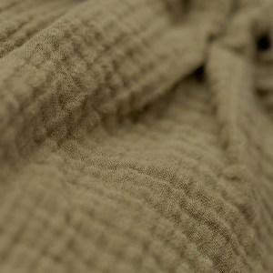 Bluse – Musselin – milchkaffee
