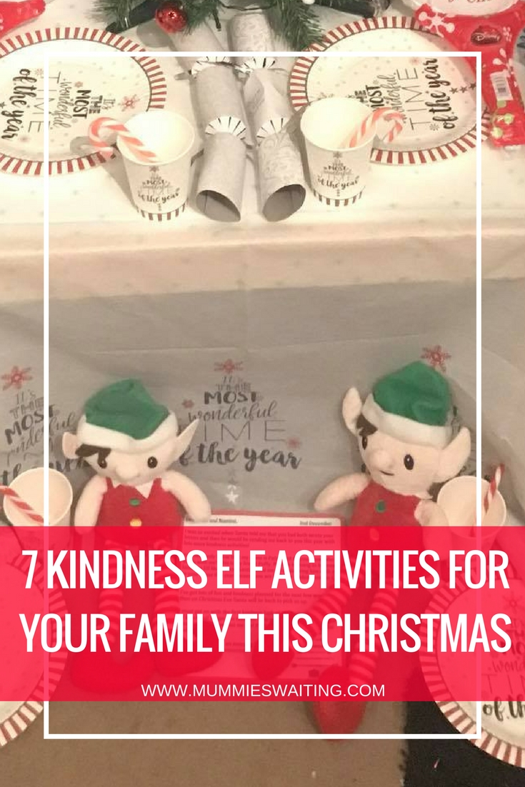 7 kindness elf activities for your family this Christmas