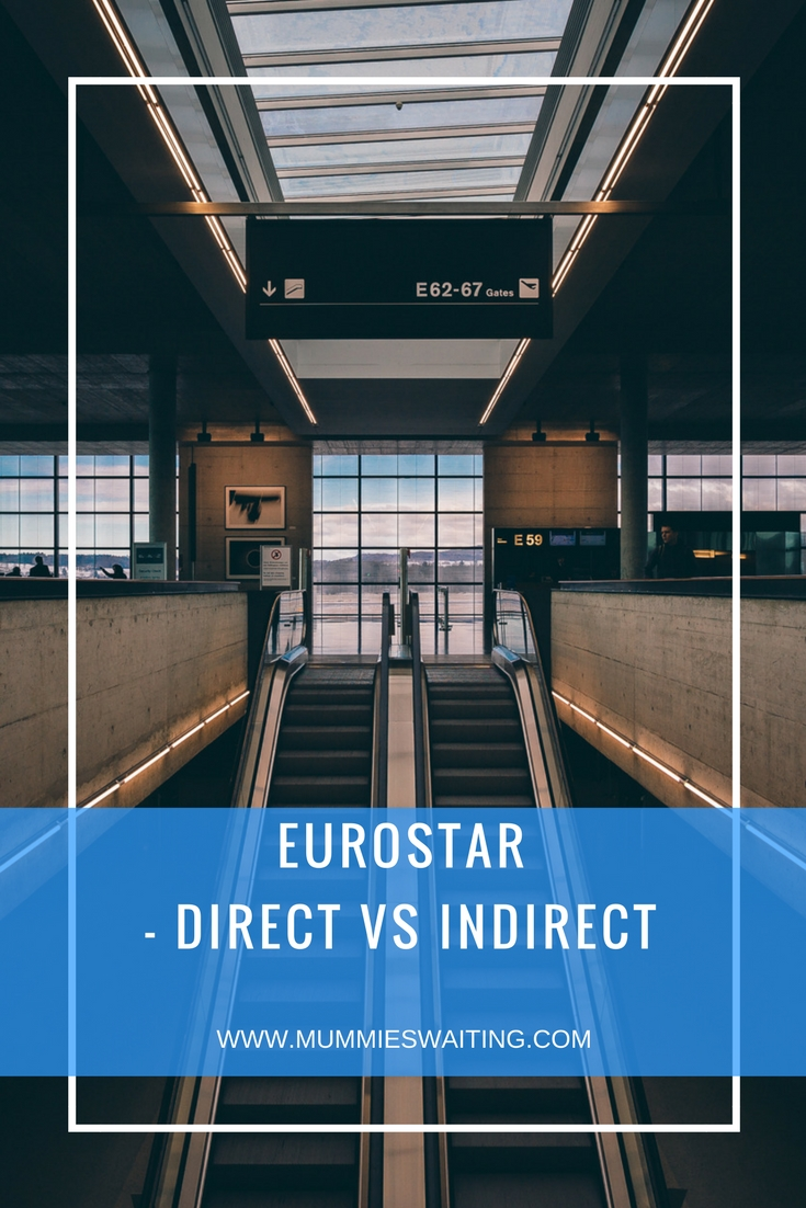 Are you looking at taking the Eurostar to DIsneyland Paris? Not sure whether to go Direct or Indirect? Maybe you've booked already and are just nervous. We've got you covered. Eurostar - Direct vs Indirect