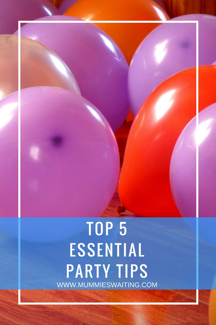 Top 5 Essential Party Tips