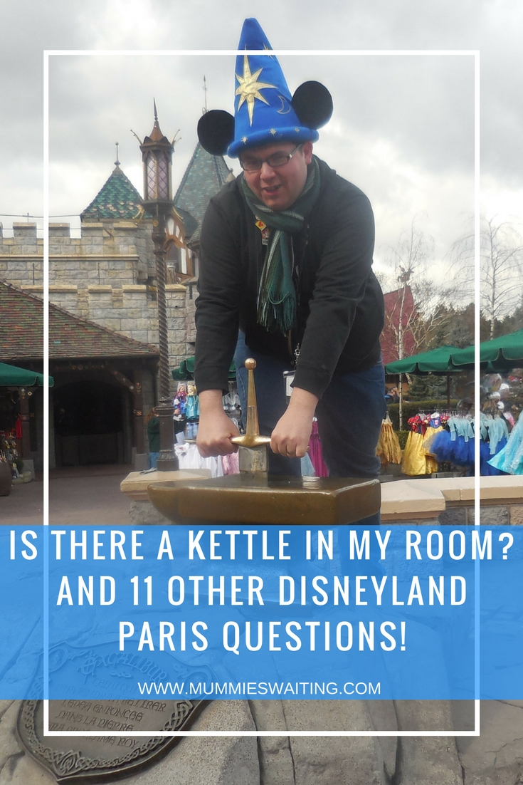 Do you have lots of questions about Disneyland Paris? Need to know if there is a kettle in your room? Here's all the answers you need.