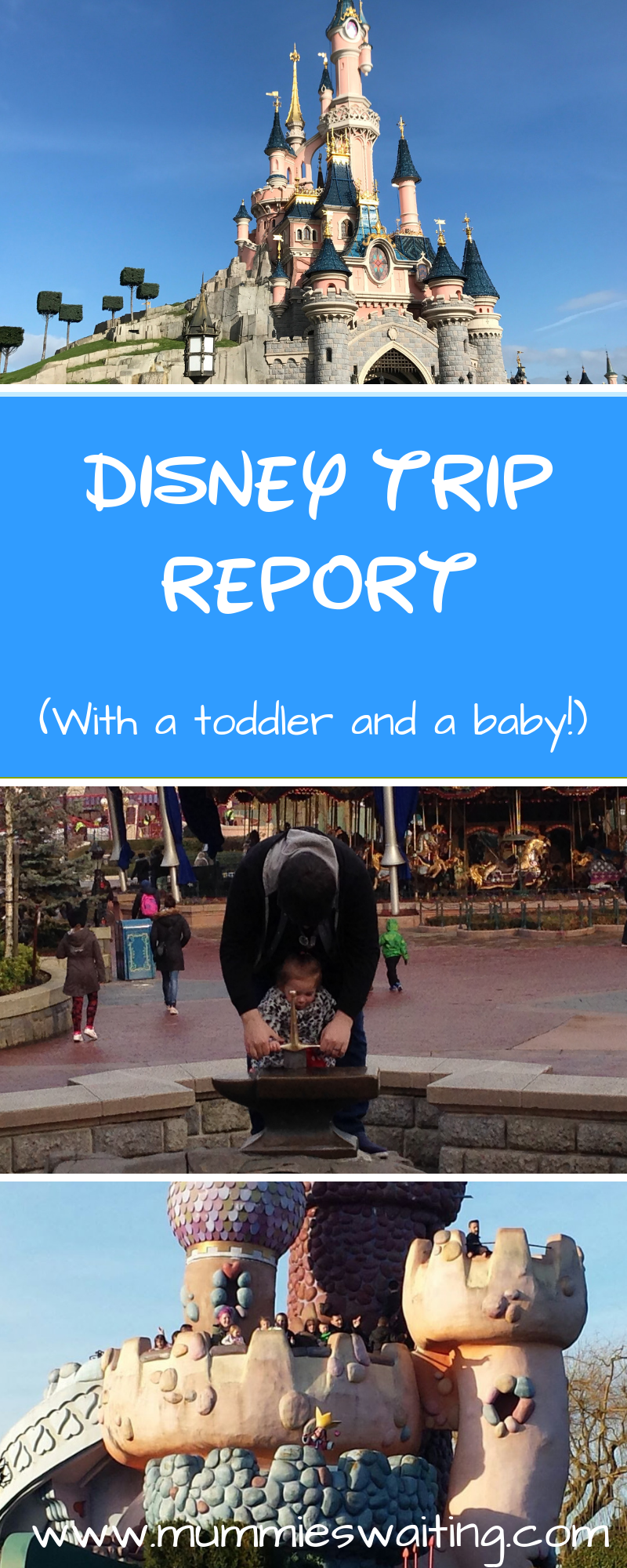 Taking a toddler or a baby to Disneyland Paris? Want a trip report that really tells you how the trip went? Check out this!