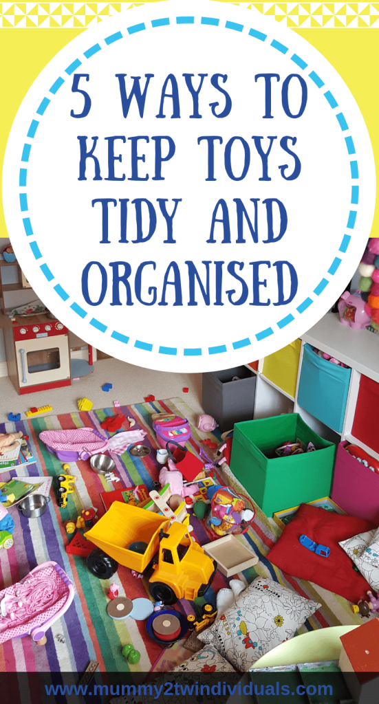 Toys get everywhere. Here are some top tips to keep you from getting overwhelmed and keeping toys organised.