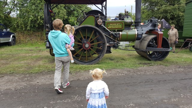 Vintage steam engine
