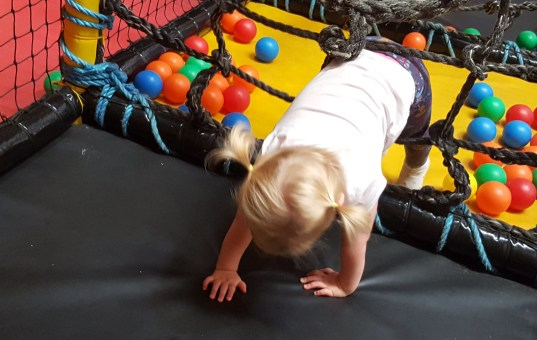 Six skills toddlers learn from soft play