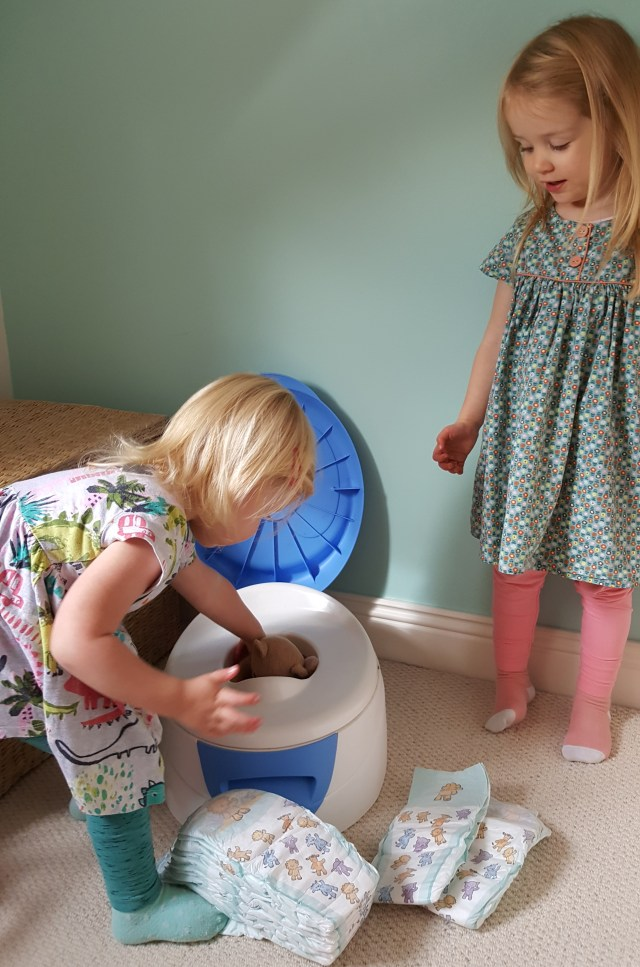 Potty training dilemma