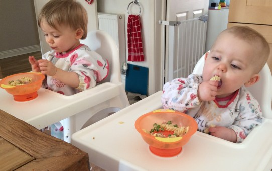 The best and worst part of having twins….is the same thing!