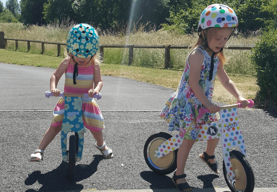 Starting our Cycling Journey with Kiddimoto - Their First Bikes