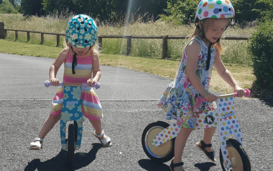 Starting our Cycling Journey with Kiddimoto – Their First Bikes