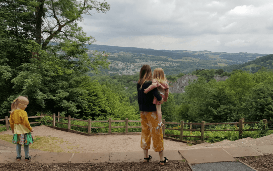 Two Days in Matlock Bath with Young Children