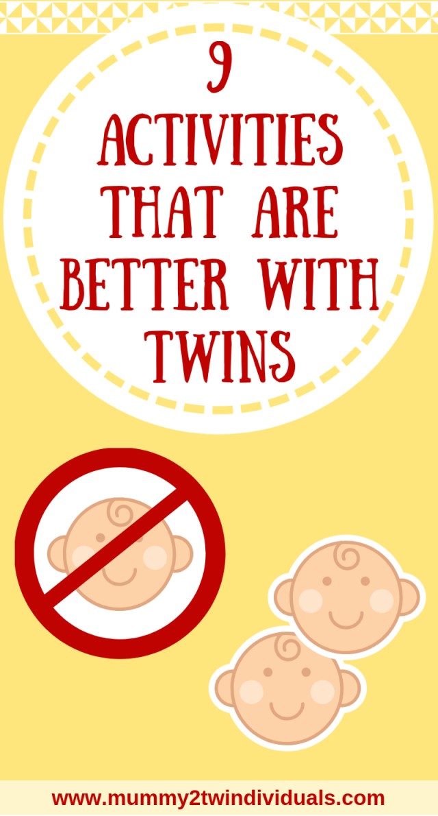 Some things with twins are so much harder and others as just better with twins