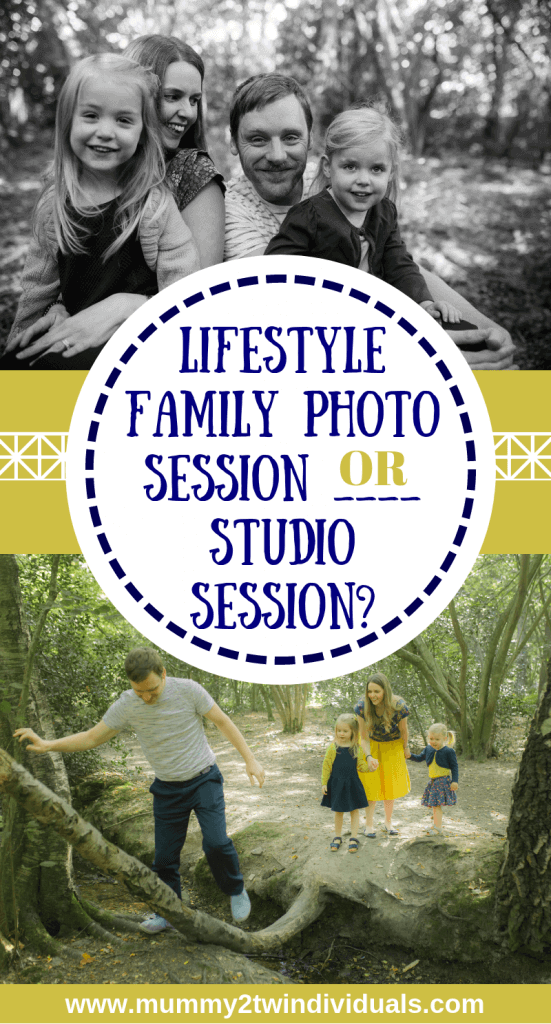 When you're thinking about getting family photos taken, you'll need to choose between a lifestyle session or a studio session. Here's why a lifestyle shoot might suit you better.