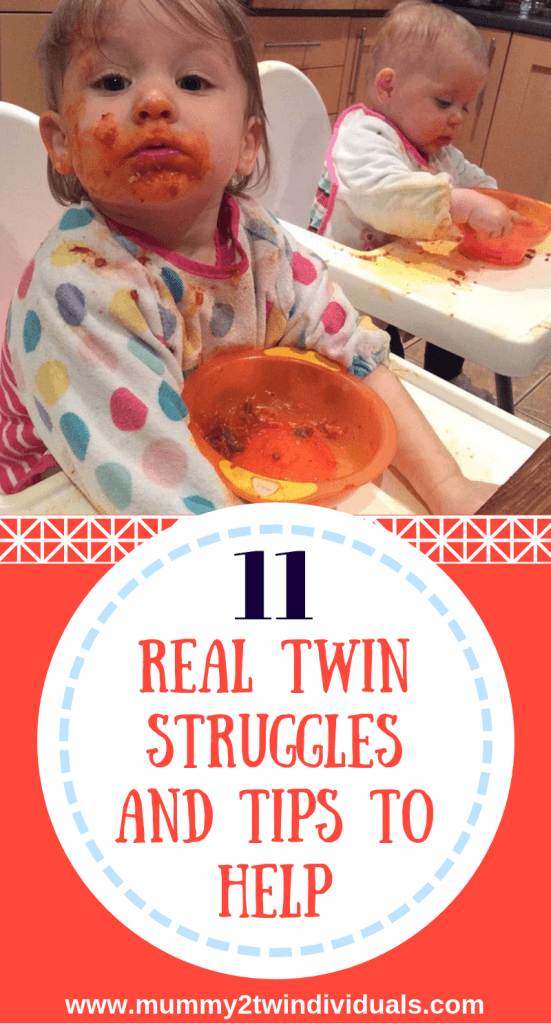 Parenting twins is tough. Here are some of the top struggles twin parents face.