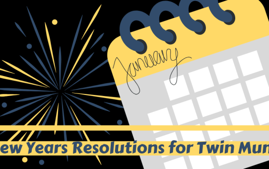New Years Resolutions for Twin Mums