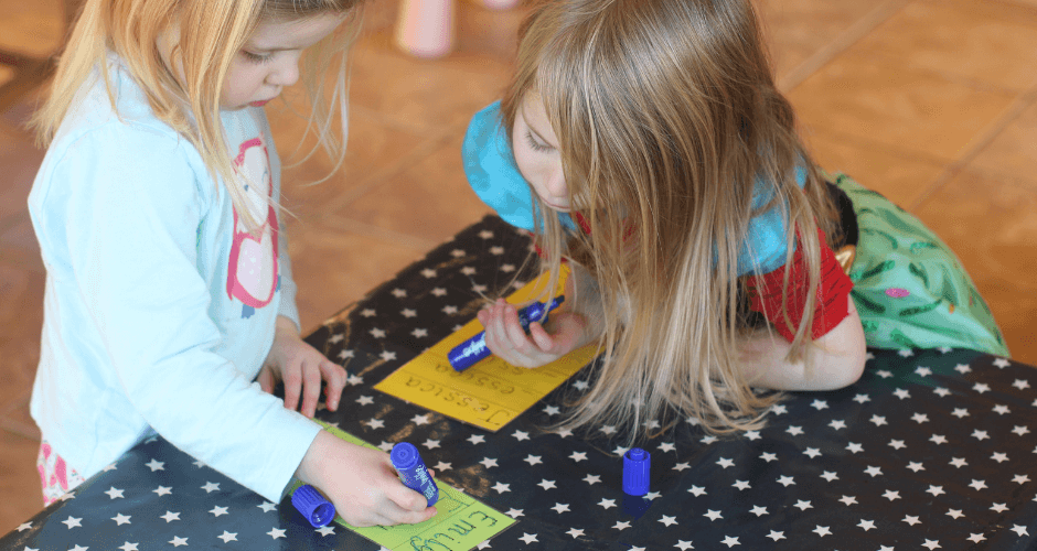 Early Writing Skills: Getting Ready for Starting School