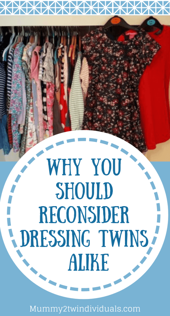 dressing twins alike pin