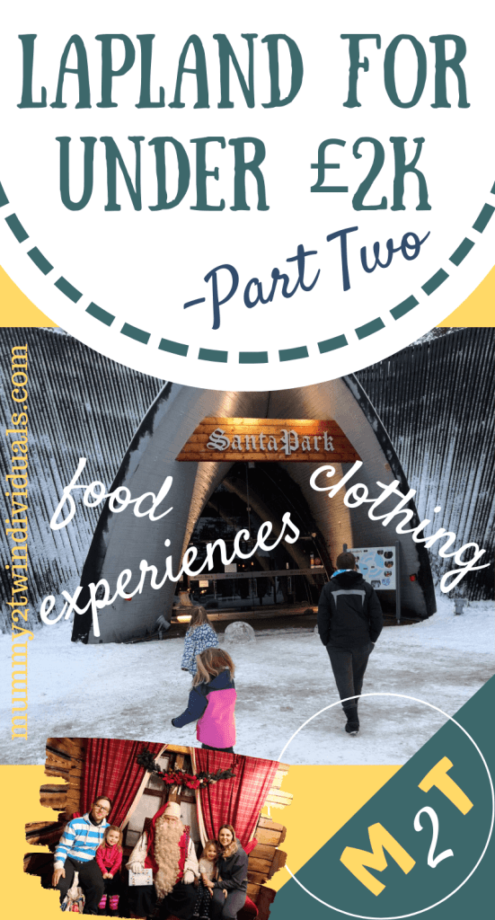 Here's how to budget for all the extras on a budget Lapland holiday