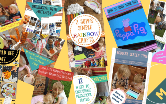 Keeping Kids Entertained: A Round-up of my most helpful posts