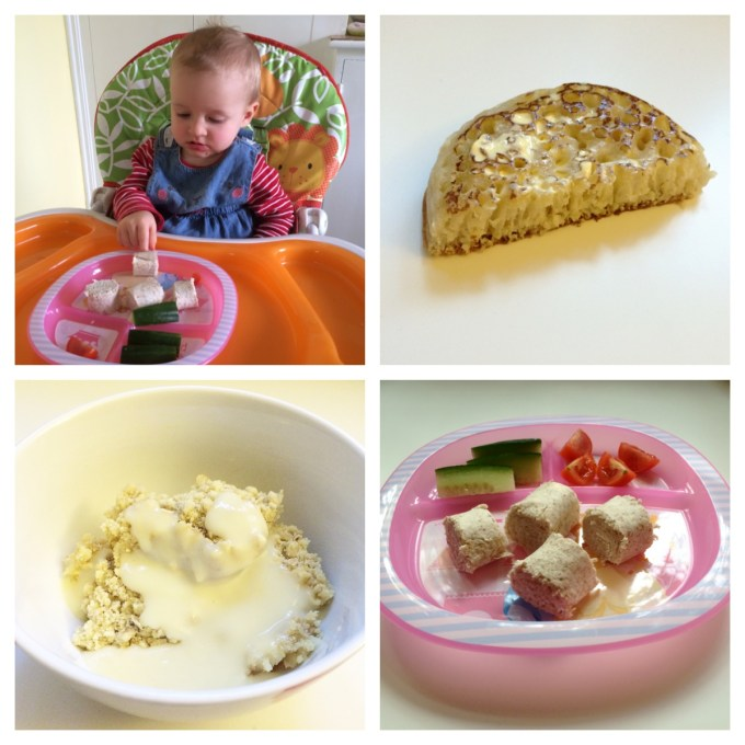 Free from dairy, soya, egg and peanut BLW meal ideas.