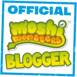 Official Moshi Monsters Blogger Badge