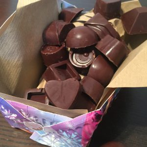 Allergy Friendly Valentine's Day Chocolate Box