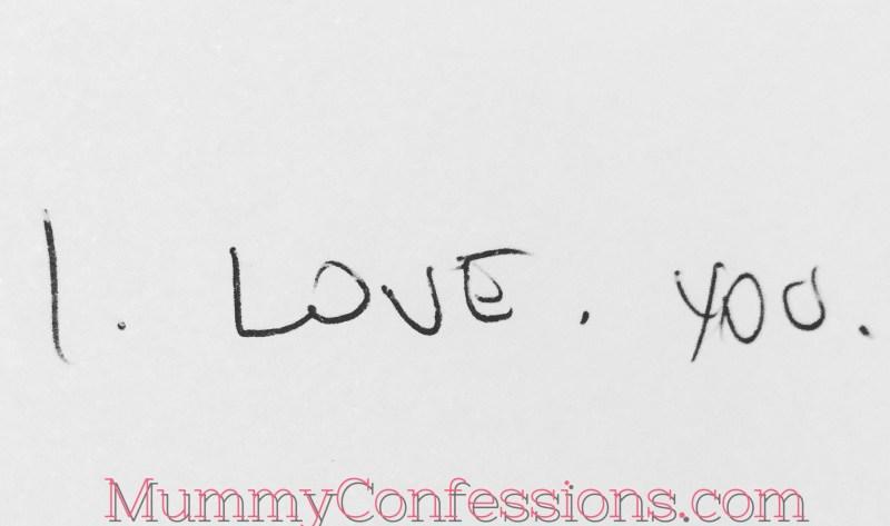 I love you, love, ideas, say I love you