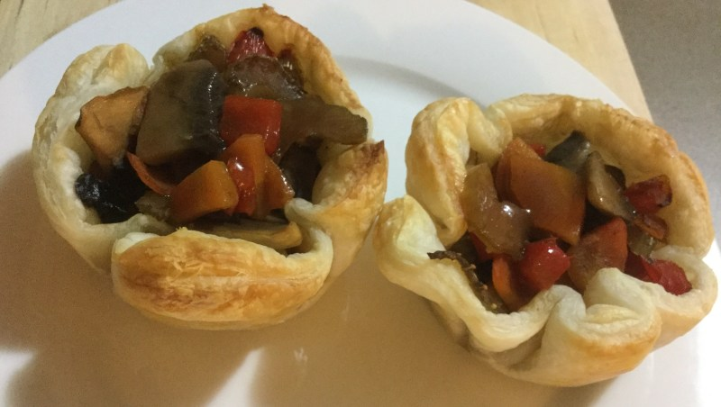 Recipe, puff pastry, meal, yum, eat, dinner, snack, peppers, capsicum, chopped, vegetables, carrots, ingredients, ideas, pies, veggies, meal, toddler snacks