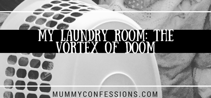 Laundry, dirty clothes, sick kids, doom, pile, motherhood, parenting, toilet Training, potty training