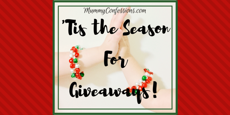 'Tis the season for GIVEAWAYs!