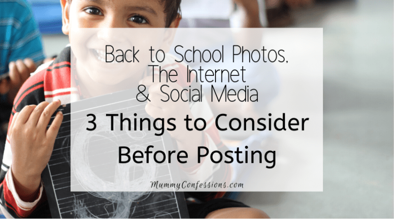 Back to School Photos, the Internet and Social Media: What You Need to Know