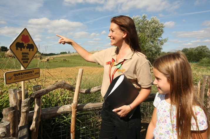 PR PHOTO - Chessington World of Adventures hires 'Birds and the Bees' Consultant