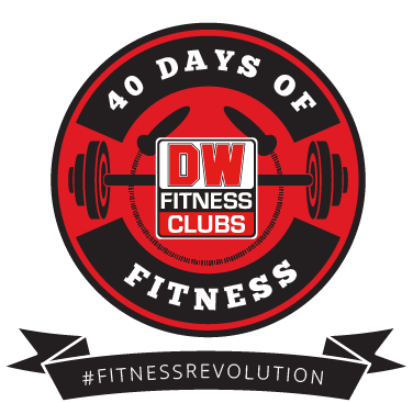 40 Days of Fitness button