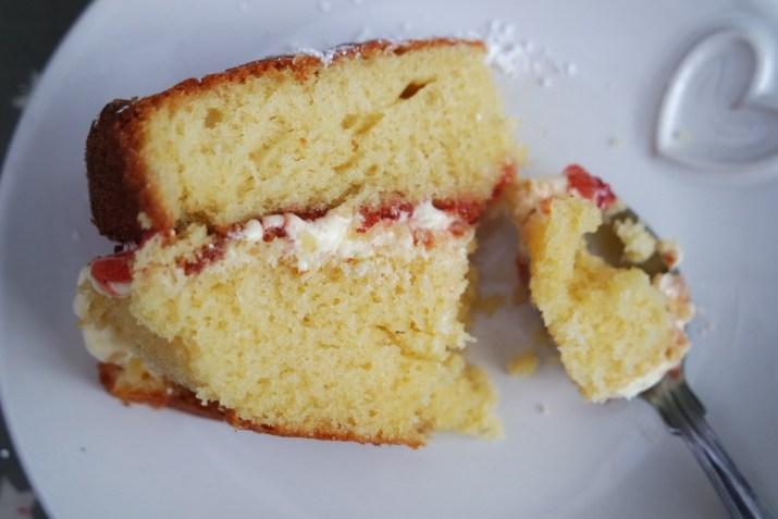 A quick recipe for Victoria Sponge
